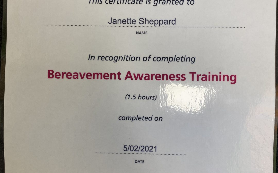 Bereavement Awareness Training